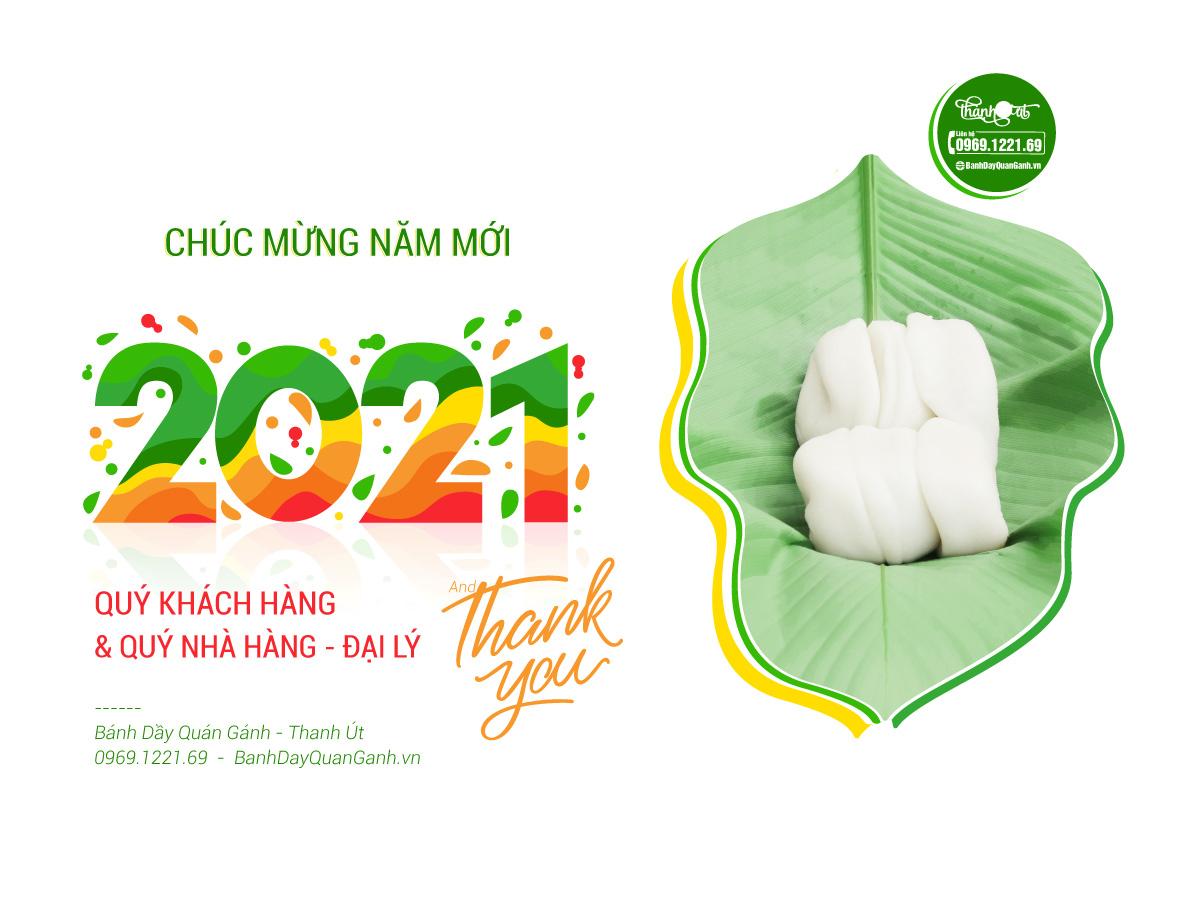 Bánh Dầy Quán Gánh - Chúc Mừng Năm Mới - Happy New Year 2021